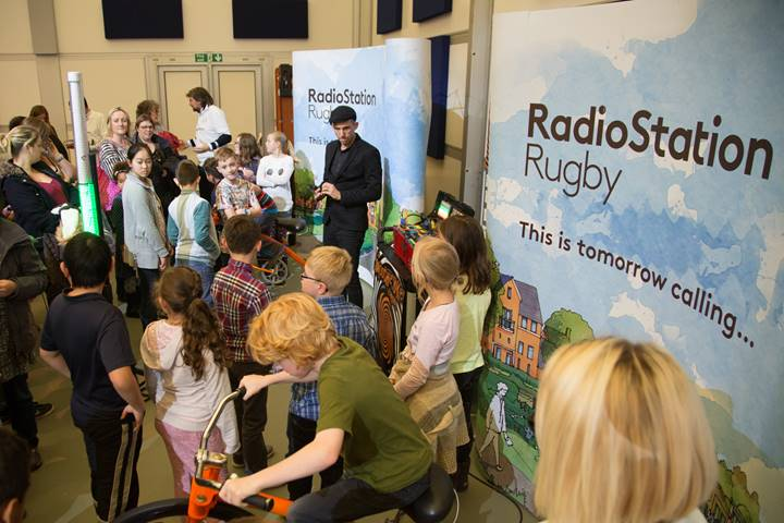 Fun and games at our Rugby World Cup event