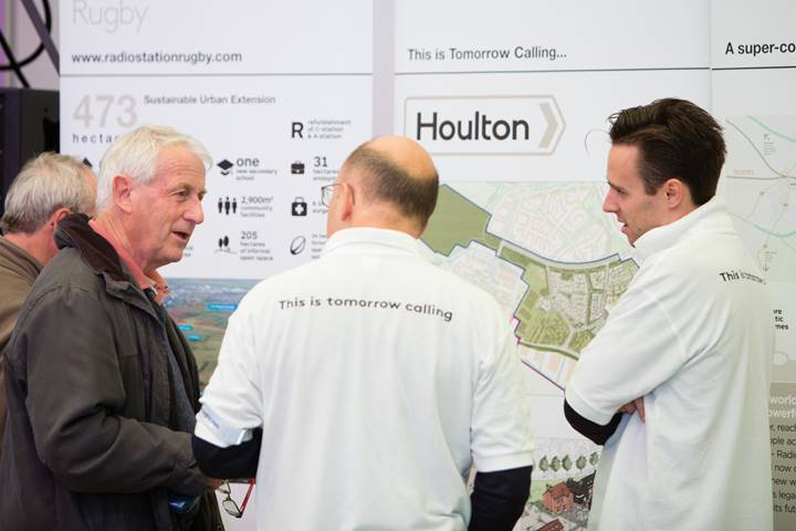 Getting out and about promoting the Houlton vision