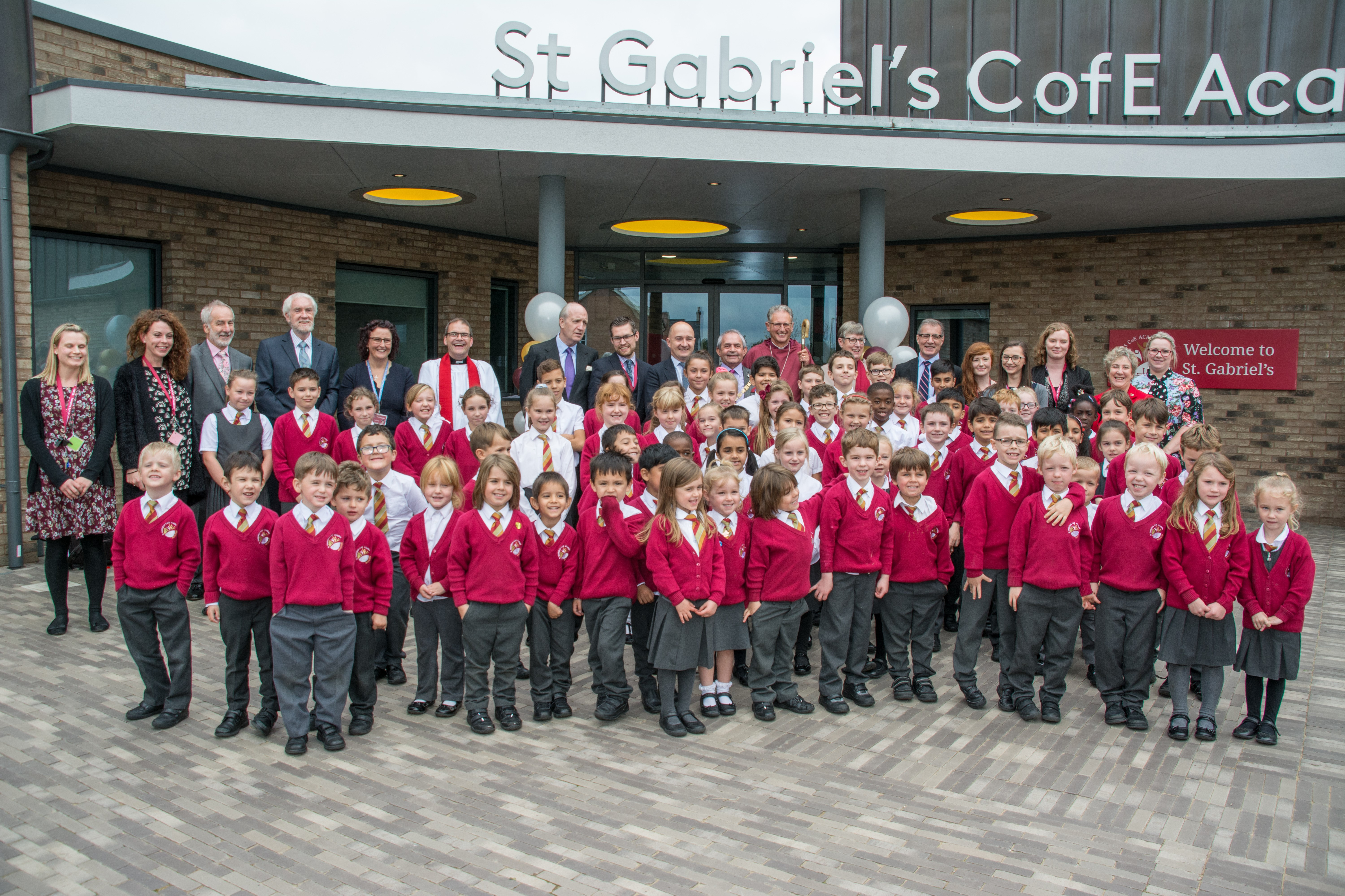 Official opening of new Church of England School in Rugby